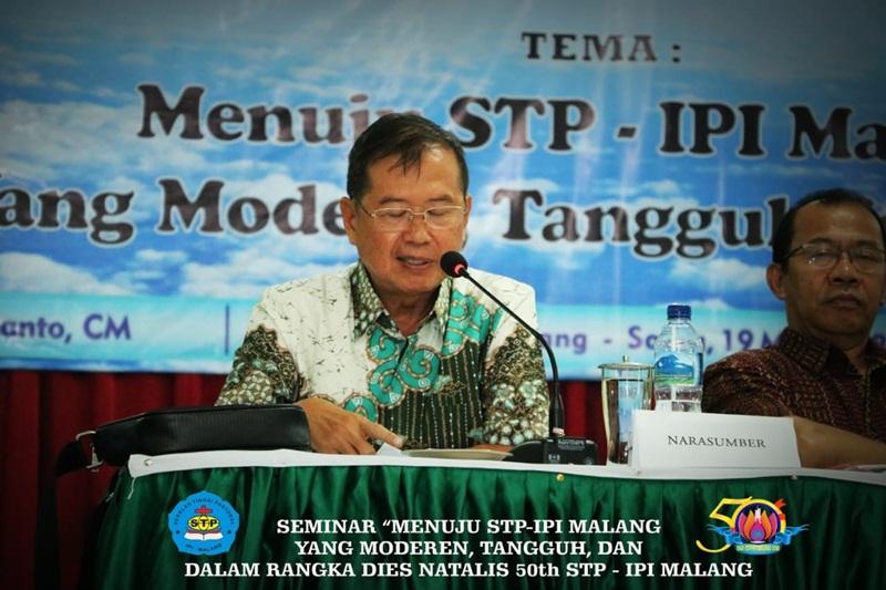 Seminar Menuju STP IPI Malang yang Modern, Tangguh – Dies Natalis 50th STP IPI Malang