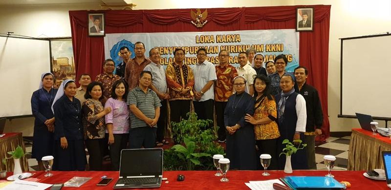 Loka Karya Penyempurnaan Kurikulum KKNI 5-7 Oktober 2018