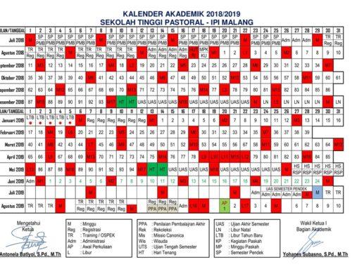 Kalender Akademik STP-IPI Malang