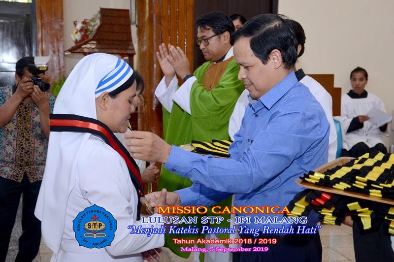 Misio Canonica Lulusan STP IPI Malang TA 2018/2019