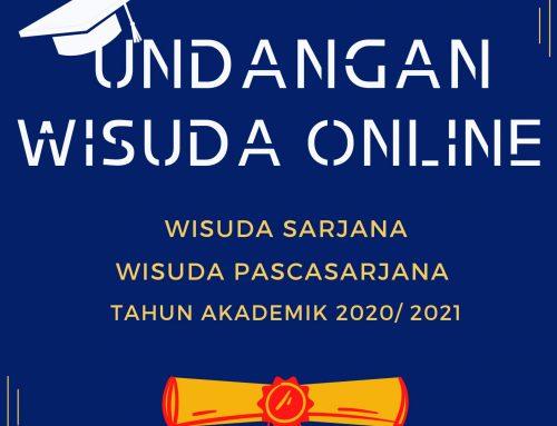 WISUDA SARJANA, PASCA SARJANA STP-IPI MALANG TAHUN AKADEMIK 2020/ 2021